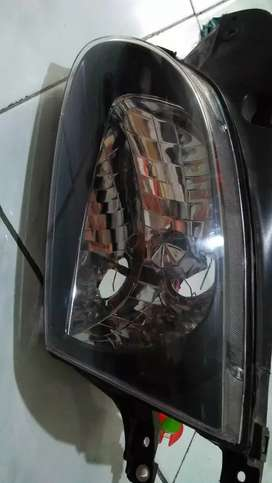 Headlamp hyundai accent