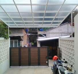 Kanopi atap polikarbonat (2661)