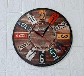 Jam Dinding Custom Sesuai Selera