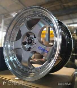 Velg R19 Work Meister Lbr 8,5/9,5 H5x114 Import Berkualitas