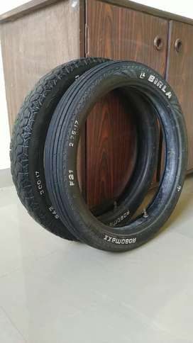 Bajaj bike, Tyre tube, Front 2.75-17 & Back 3.00-17