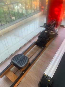 Commercial water rower