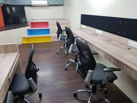 Fully furnished office available for rent in satra plaza