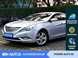 [OLX Autos] Hyundai Sonata 2012 L 2.4 Bensin A/T Silver #Power Auto ID