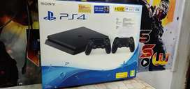 Sony Playstation 4 slim 1tb with 2controllers and games