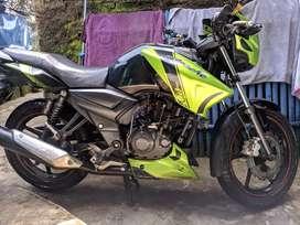 Tvs Apache RTR 160 2013,terawat mulus,mesih halus
