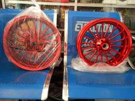 Velg nmax power merah barang baru