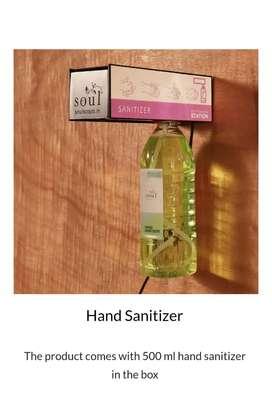 Toucless sanitizer machine