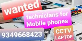 Wanted TECHNICIANS for Mobile phone & cctv