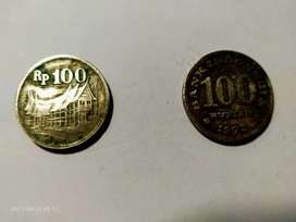 Koin 100 Rupiah 1973