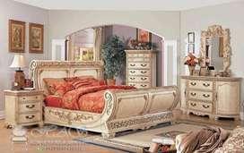 Set Kamar Tidur Modern Klasik