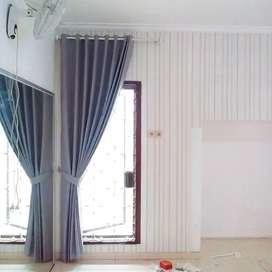 Korden Tirai Hordeng Gorden Curtain Blinds Gordyn Wallpaper 5.144vh7