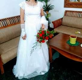 Wedding Gown White