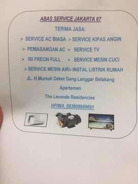 Jasa service ac dan elektronik