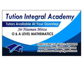Tuition   Integral  Academy