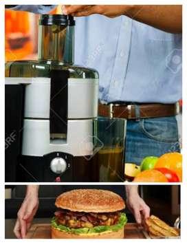 Need Staff Juice sanwitch maker