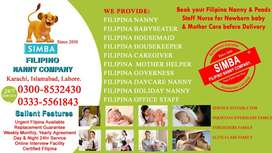 Filipino Nanny  Services / Baby Sitter/ House Maid