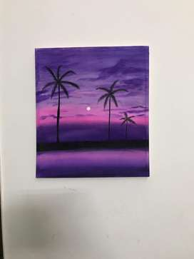 Sunset painting for sale