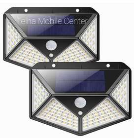 Solar LED Out Door Light with motion Sensor, 270° Four-sided Light