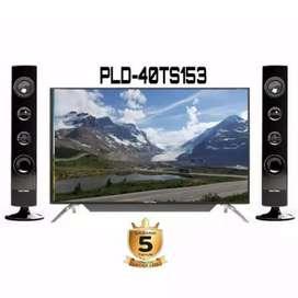 TV LED 40 POLYTRON BARU 2020 5 TAHUN digital sudah fullhd digital movi