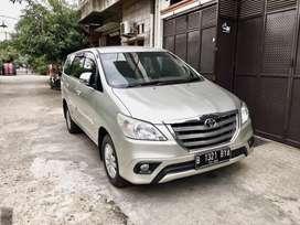 Toyota Kijang Innova/ Inova Tipe G AT/Automatic Tahun 2014 Mulus, 2013