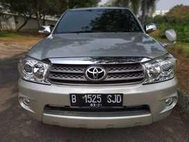 Fortuner G AT Diesel 2011 Silver