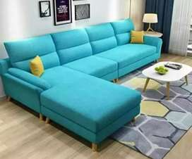 3 seater + Diwan heavy sofa set warranty 10 years