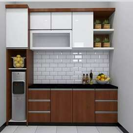 Kitchenset Minibar , Partisi ,sekat Ruangan ,dan Sofa