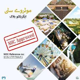10 marla plot Available for sale in Motorway Executive Block Islamabad