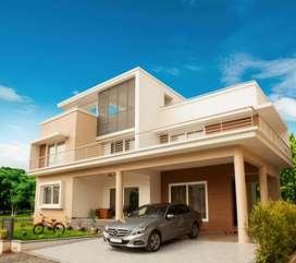 Reputed builder project,luxury villa sale at kakkanad