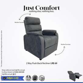 Imported fabric Recliner(HIGH LIFE)