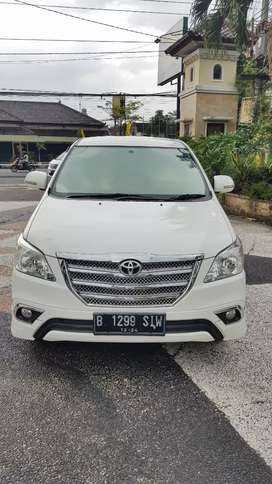 Toyota inova 2.5 G 2014 manual diesel.km 50rb