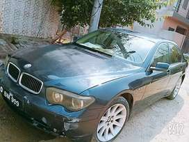 Blue Metallic coloured BMW is for sale.