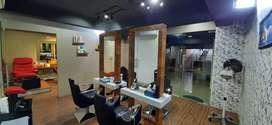 A well-established semi-luxury Ladies beauty salon