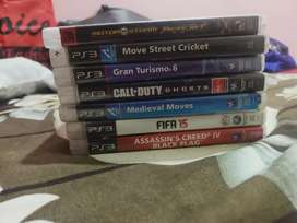 ps3 cd for sale rs 300 each ..or exchage...