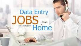 home based data entry work Easy and Best pat time jobs in  goverment