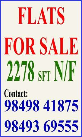 Deluxe 3bhk Flats For Sale