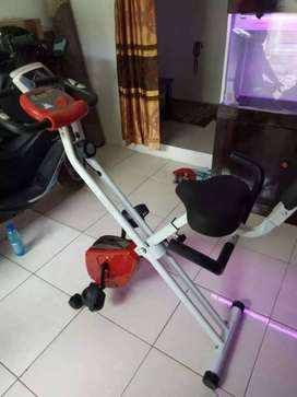Sepeda statis fitness X bike magnetic TL 920 BN526