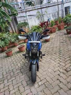 Bajaj Dominar 400cc ABS BSIV, blue and black,2018, single owner self