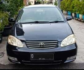 Dijual Corolla Altis 2002 Type G