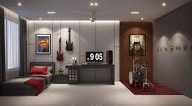 Freelance 3D visualizar (interior)