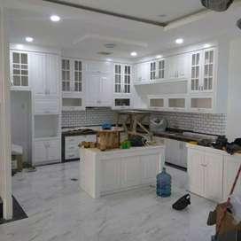 Meja dapur tempahan