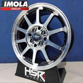 Pelg mobil racing murah ring 15 HSR wheel baut 4x100 & 4x114,3 Gresik