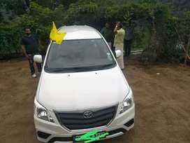 Good condition single owner Innova negotiable prize,showroom service