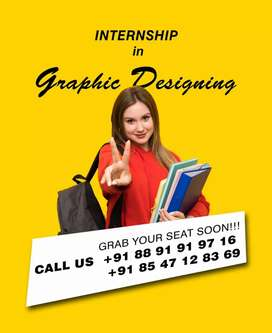 Internship in graphic designing