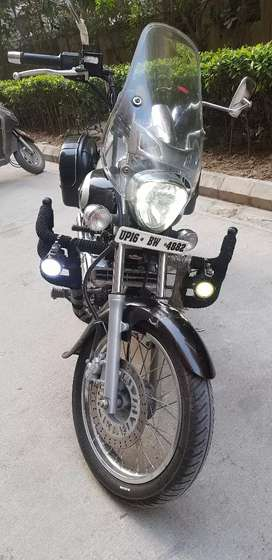 New condition bike only 5500 km drove