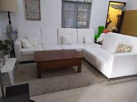 Sofa putih dari korea