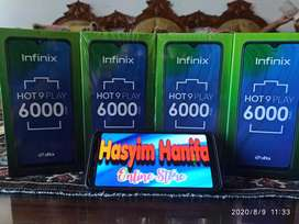 Infinix hot 9 play 3/64 BARU segel