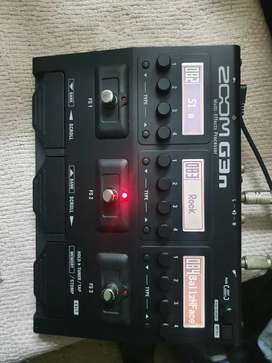 Zoom G3n Processor. NEW CONDITION