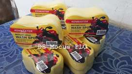 Kenmaster / Busa spons wash, untuk cuci mobil motor kesayangan kalian